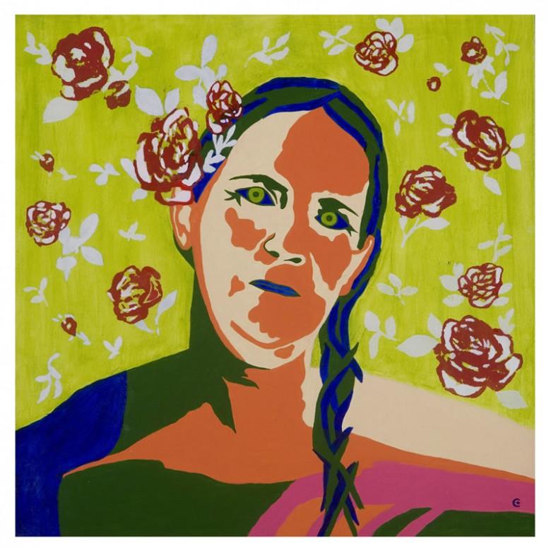 Mariada rosa - 40 x 40 - AST - 2007