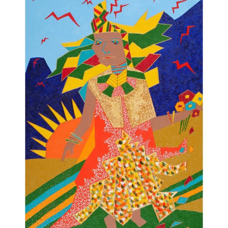 A imperatriz – 50 x 70 cm