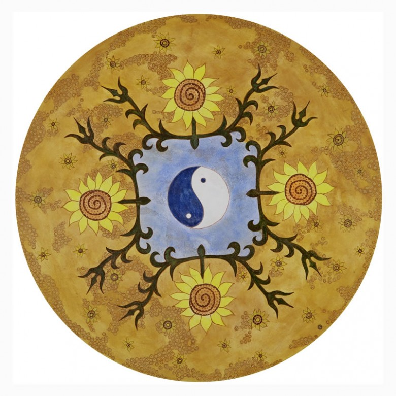 Mandala do equilíbrio e prosperidade- D 60 cm - AST - 2006