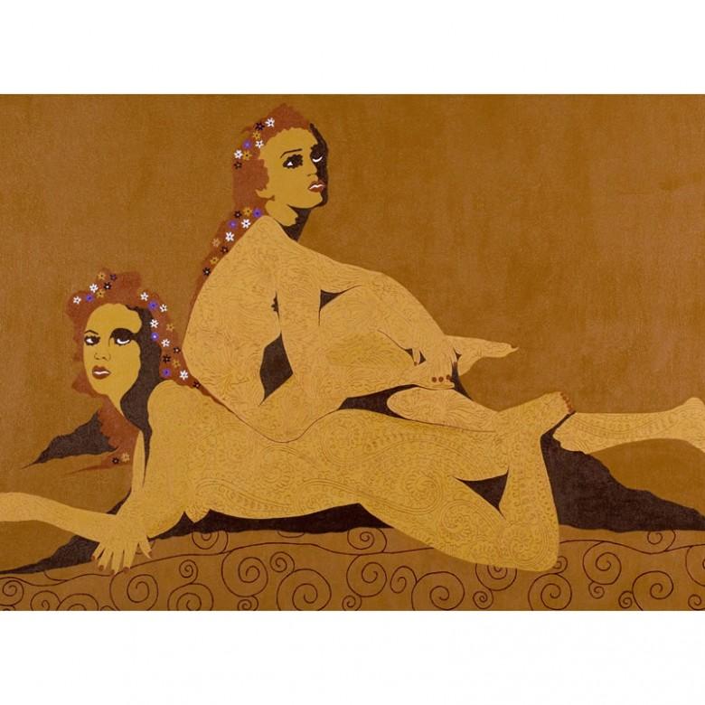 Série Feminino – Contemplação – 80 x 1,30 cm
